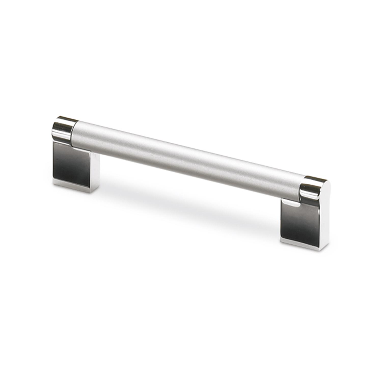 Hettich Castra Zinc Aluminium Bright Chrome Finish Handle
